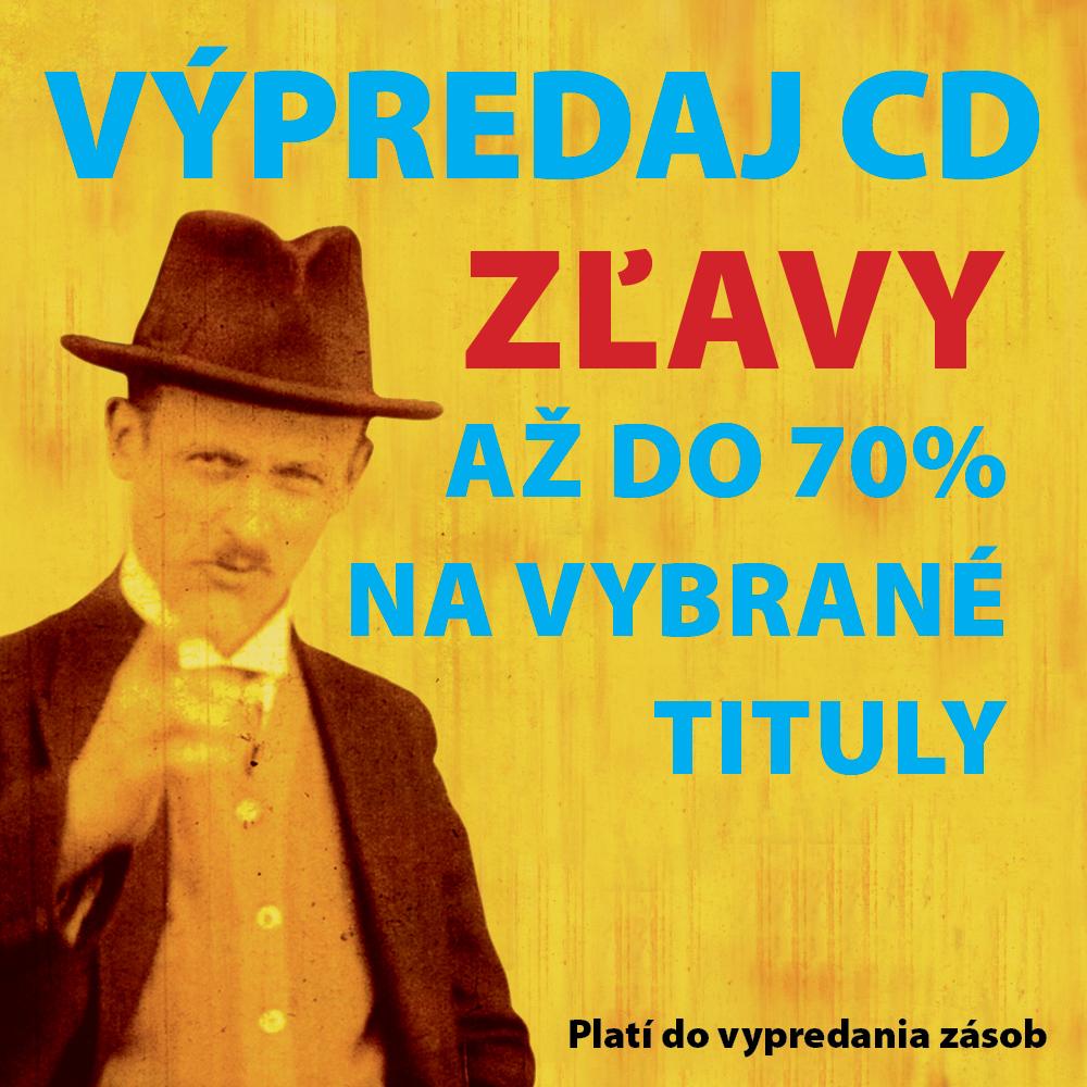 Výpredaj CD