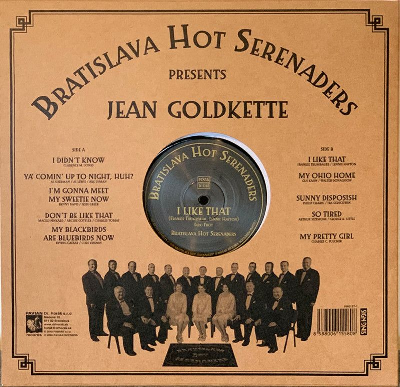 BHS present Jean GOLDKETTE - I Like That